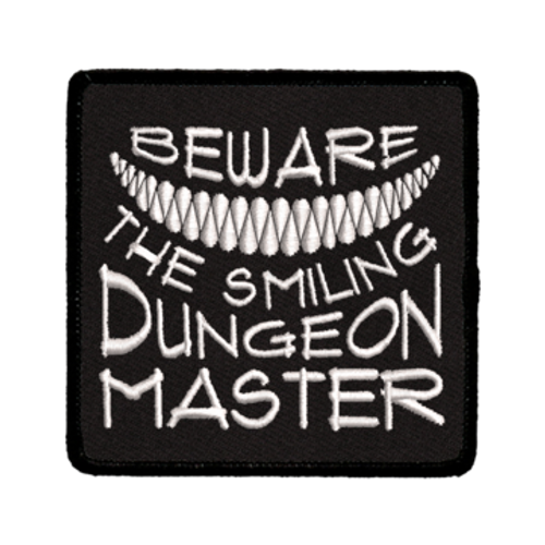 Patch Beware Smiling DM