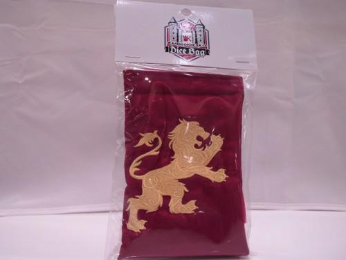 Neon Lion dice Bag