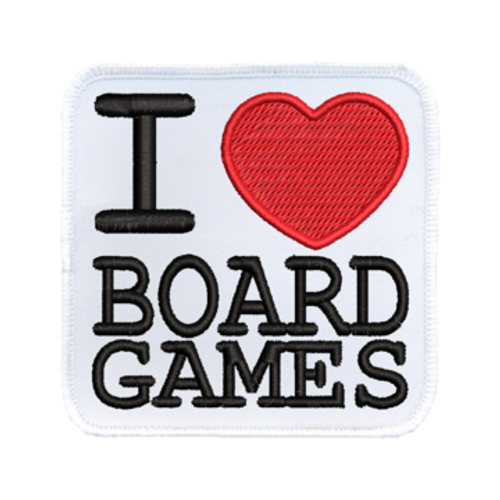 Patch I Heart Board Games
