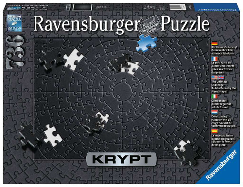 Krypt - Black (Blank) 736pc box