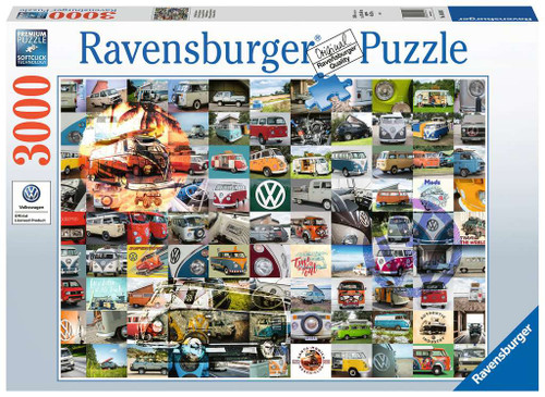99 VW Camper Van Moments 3000pc box