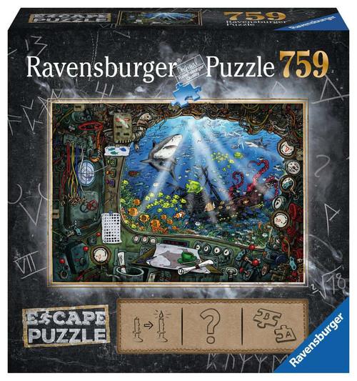 Submarine 759pc Escape Puzzle box