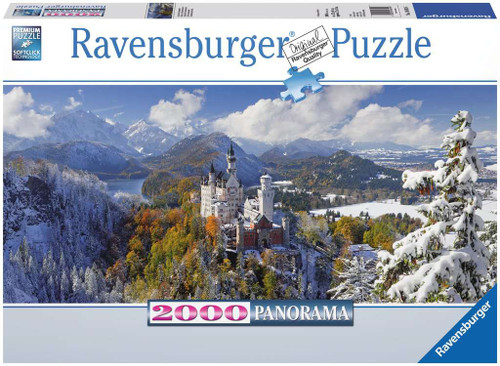 Neuschwanstein Castle 2000pc Panorama box