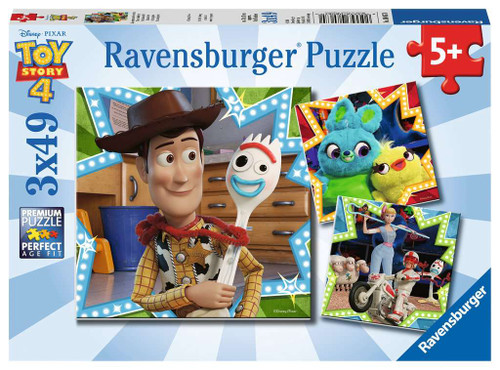 Toy Story 4 3x49pc box