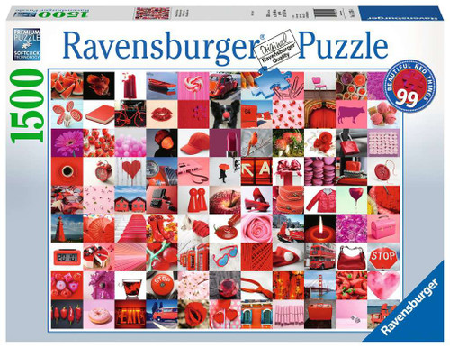 99 Beautiful Red Things 1500pc box