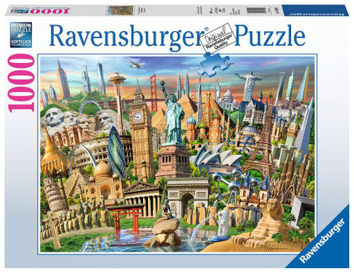World Landmarks 1000pc box