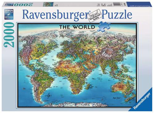 World Map 2000pc box