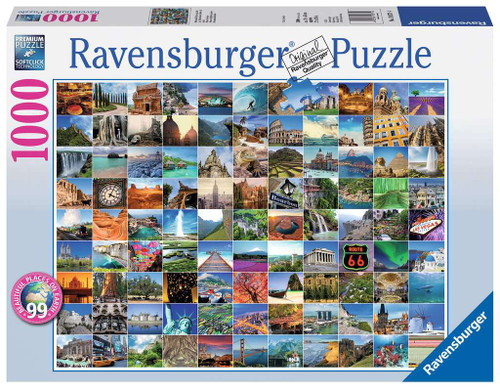 99 Beautiful Places on Earth 1000pc box