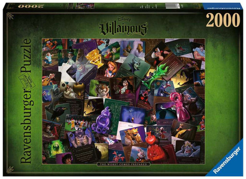Villainous: All Villains 2000pc (In-Store Pickup Only)