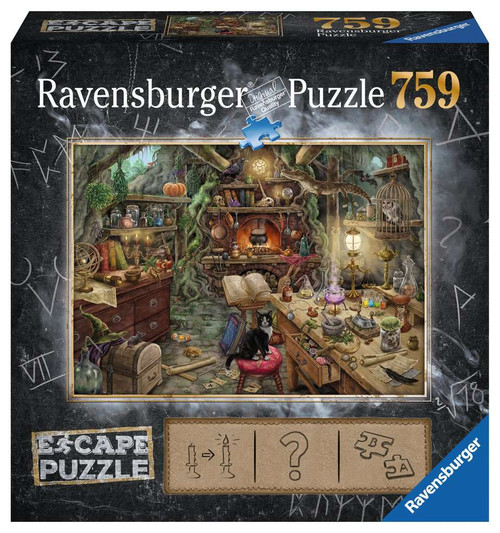 Witch's Kitchen 759pc Escape Puzzle box