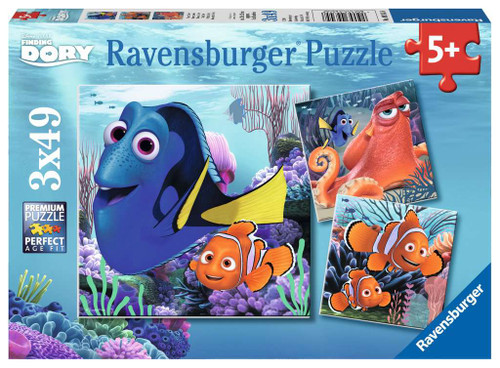Finding Dory 3x49pc box