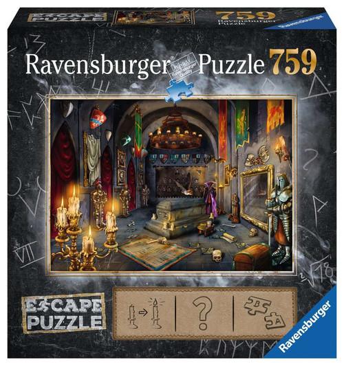 Vampire's Castle 759pc Escape Puzzle box