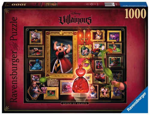 Villainous: Queen of Hearts 1000pc box
