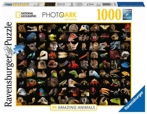 99 Stunning Animals National Geographic 1000pc box