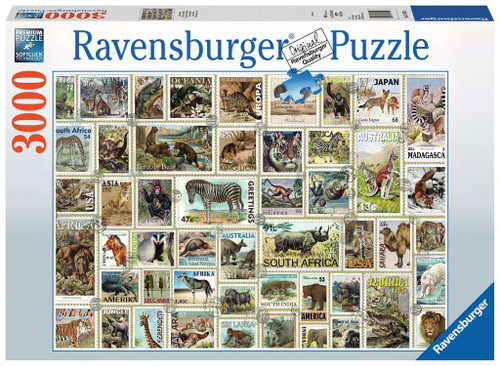 Animal Stamps 3000pc box