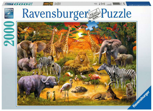 Gathering at the Wateringhole 2000pc box