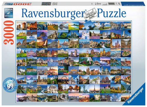Beautiful Places of Europe 3000pc box