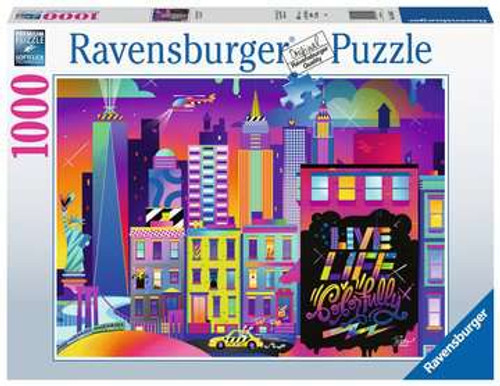Live Life Colorfully, NYC 1000pc box