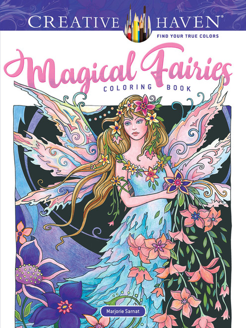 Magical Fairies Creative Haven Coloring Book