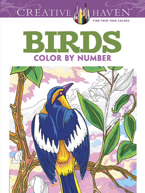 Birds Color By Number Creative Haven Col