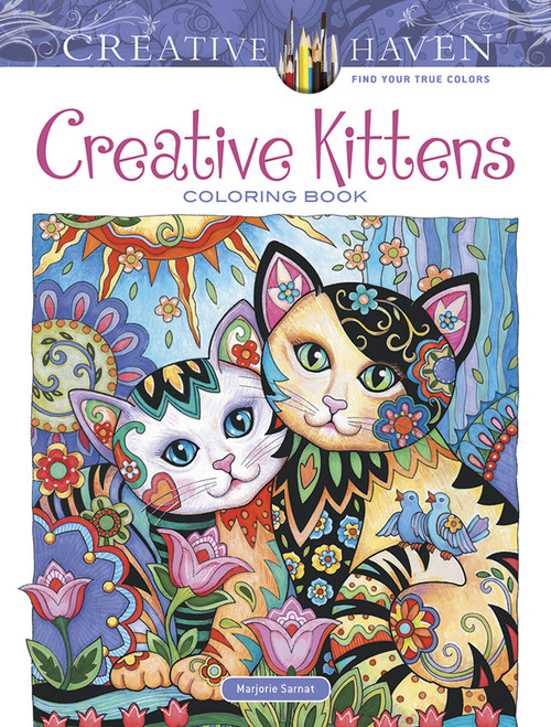Creative Kittens Creative Haven Coloring