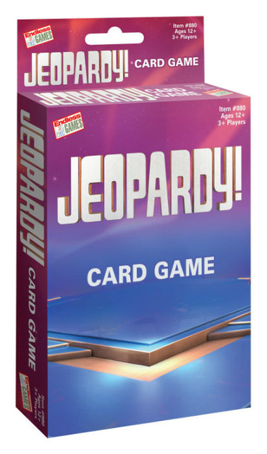 Jeopardy Card Game (2019)