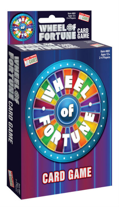 Wheel of Fortune Card Game (2019)