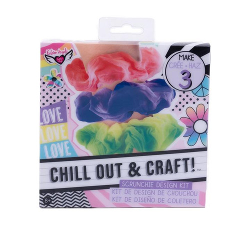 TT Scrunchie Design Chill Out & Craft K