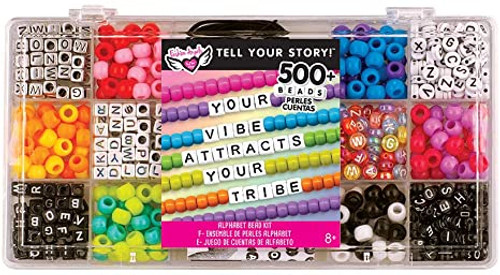 Tell Your Story Alphabet Bead Case small