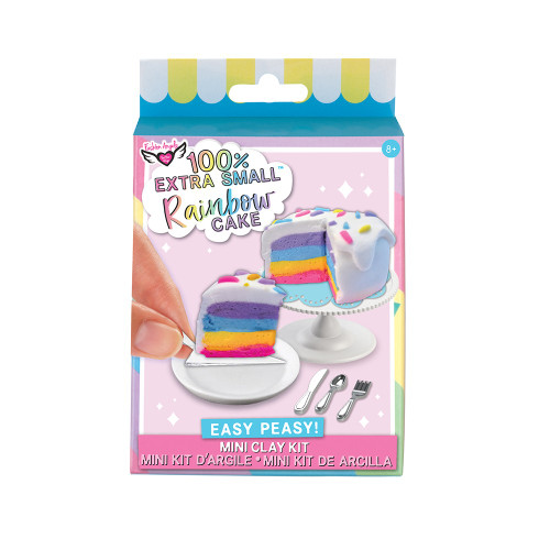 TT Rainbow Cake 100% XS Mini Clay Kit