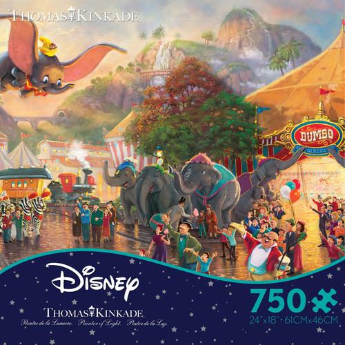 Disney Dumbo 750pc Kinkade Disney box