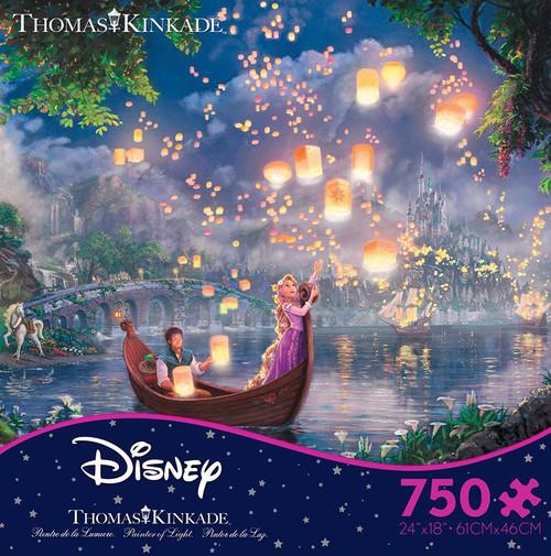 Tangled Floating Candles 750pc Kinkade Disney box