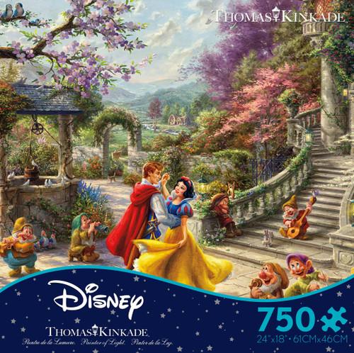 Snow White Dancing 750pc Kinkade box