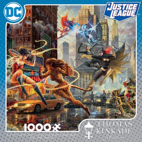 Women Of DC 1000pc Kinkade box