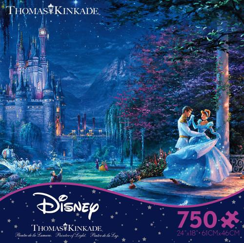 Cinderella Dancing in the Starlight 750pc Kinkade box