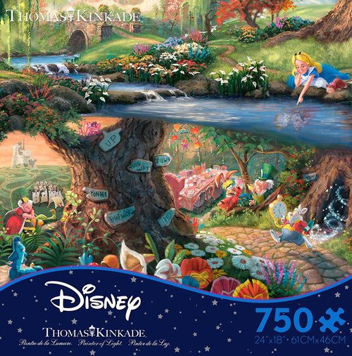Alice In Wonderland 750pc box