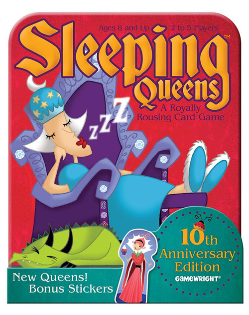 Sleeping Queens 10th Anniversary Tin
