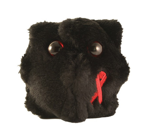 Image of Giant Microbes HIV plush