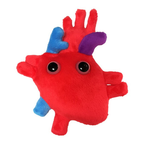Image of Giant Microbes Heart plush