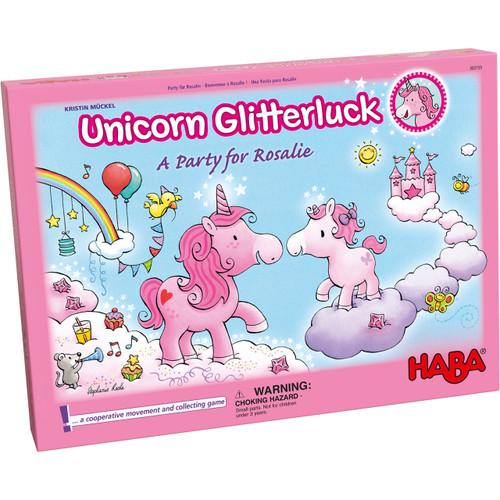 Unicorn Glitterluck Party for Rosalie Box