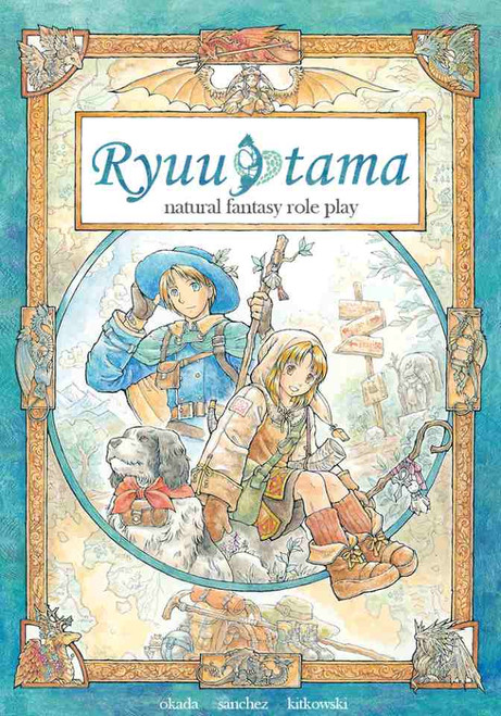 Ryuutama: Natural Fantasy Roleplay RPG book