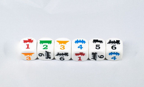 Train Game dice image