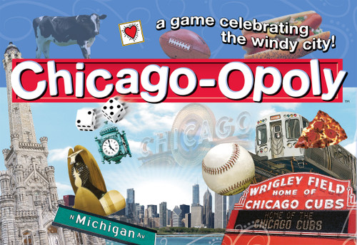 Image of Late for the Sky's Chicago-opoly box art