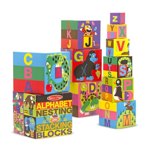 Alphabet Nesting & Stacking Blocks