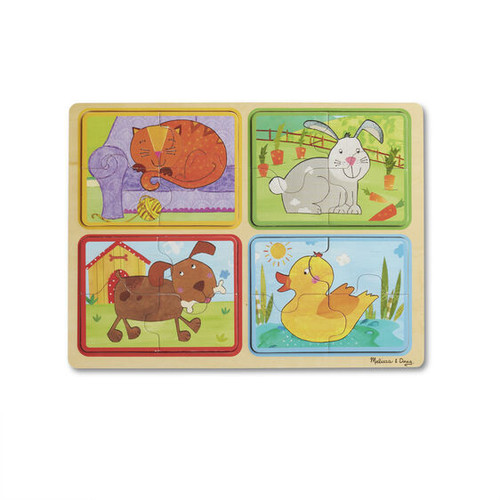 Playful Pals Puzzle Green Start