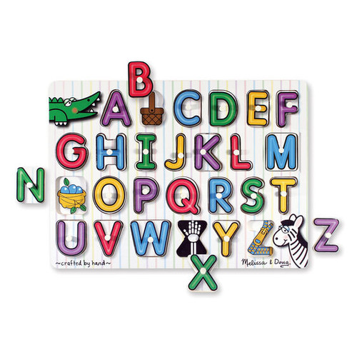 Lift & See Alphabet Peg