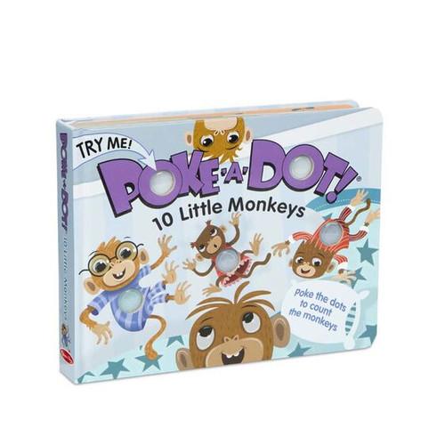 10 Little Monkeys Poke-A-Dot
