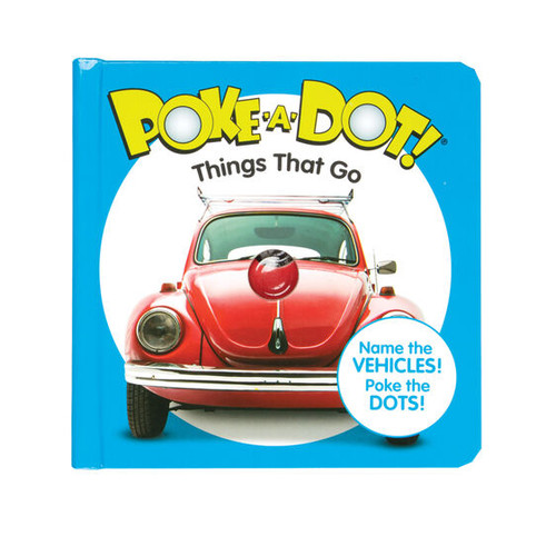 Things That Go Poke-A-Dot Book