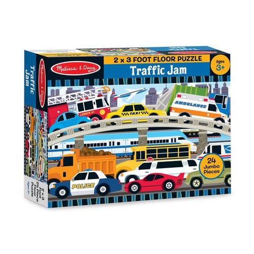Traffic Jam Floor Puzzle 2'x3'