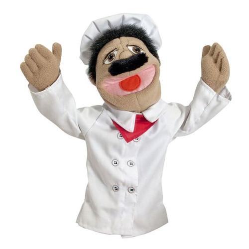 Chef hand puppet (box)